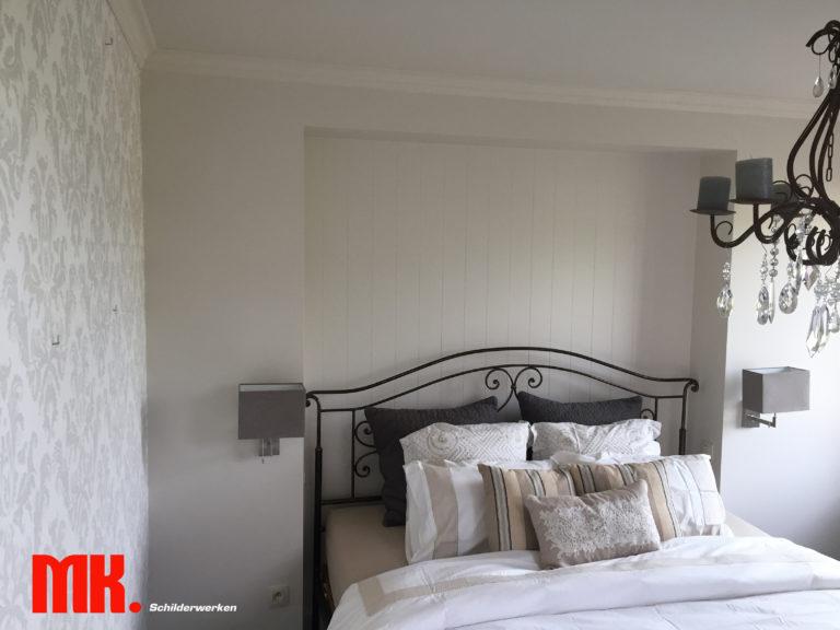 Schilder-behang- en lakwerk voor particulier te Leopoldsburg